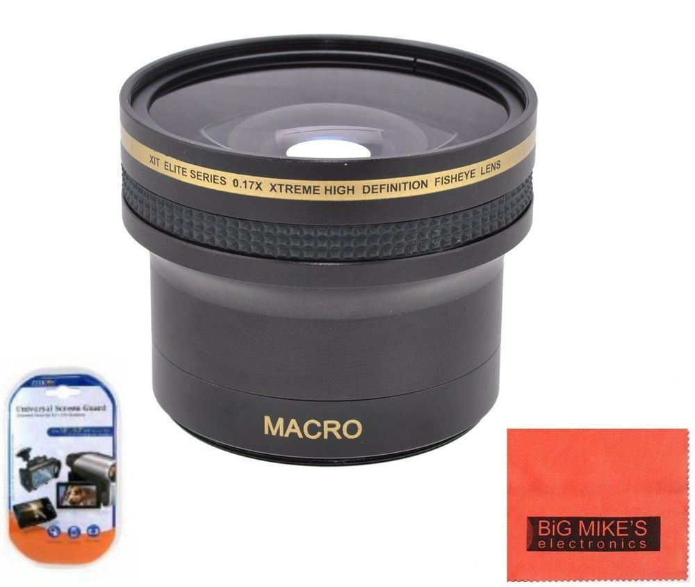 DavisMAX Fibercloth Deluxe Lens Bundle 52mm 2x Telephoto Lens for Nikon D3200 with Nikon 55-200mm Lens