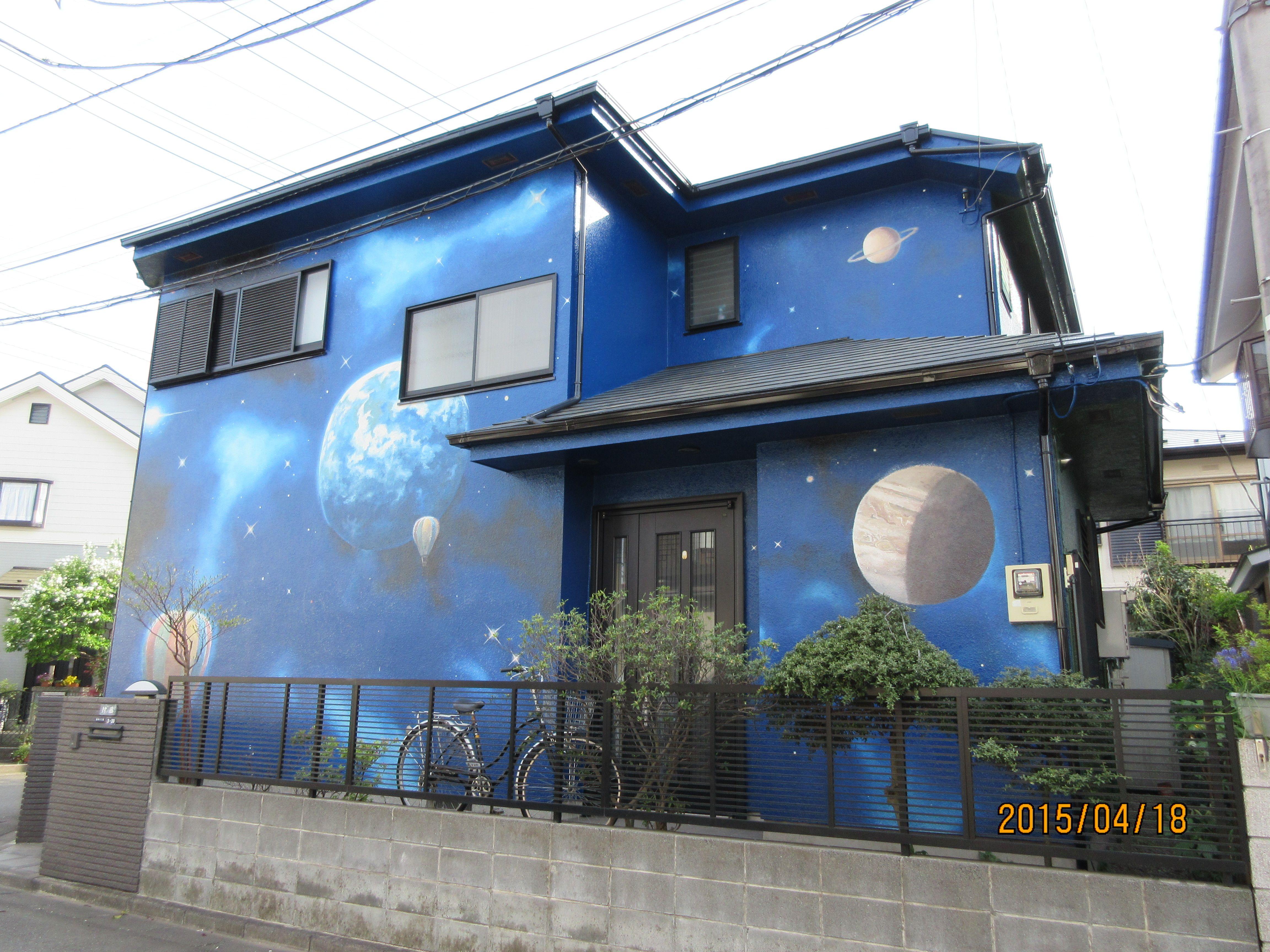 外壁塗装 Art アート デザイン アート ペインティング ウォール