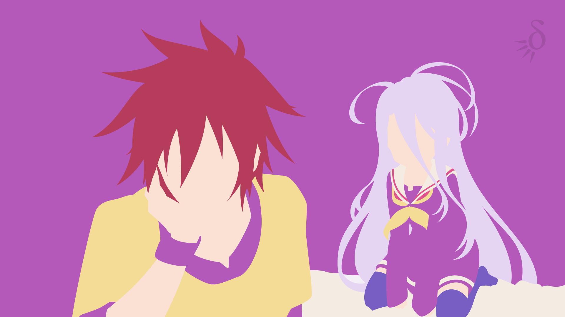 Sora & Shiro No Game No Life No game no life, Anime