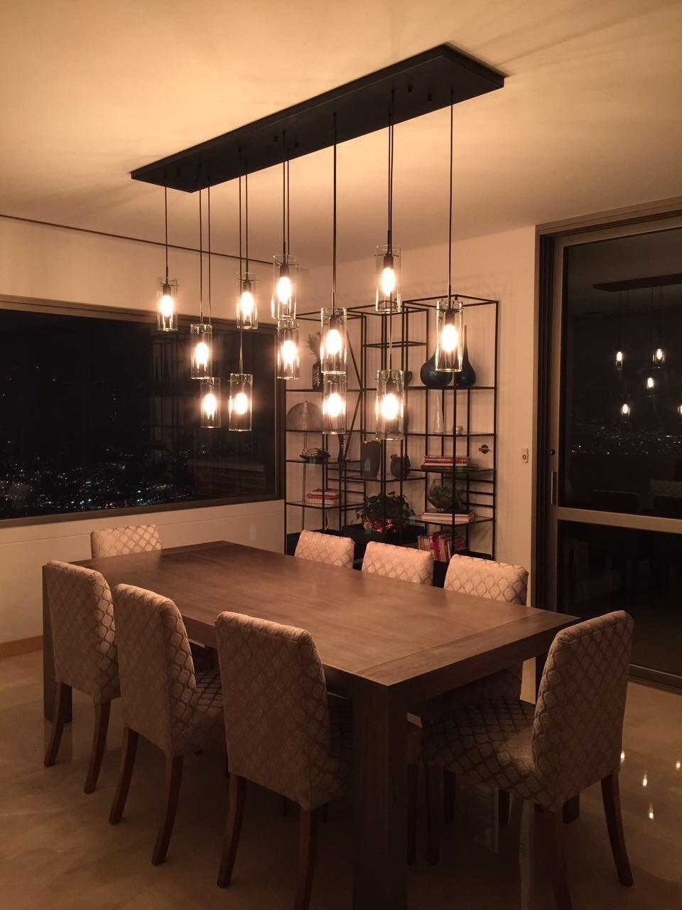 Lámparas colgantes | Iluminación residencial | Lámparas decorativas |  Iluminación de la sala de comedor, Iluminación de comedor, Interior de  comedor