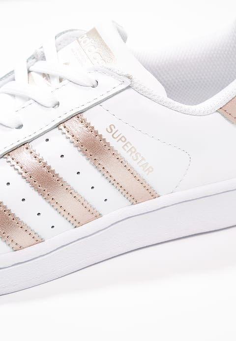 Superstar zapatilla Low blanco / Super adidas Collegiate y originales