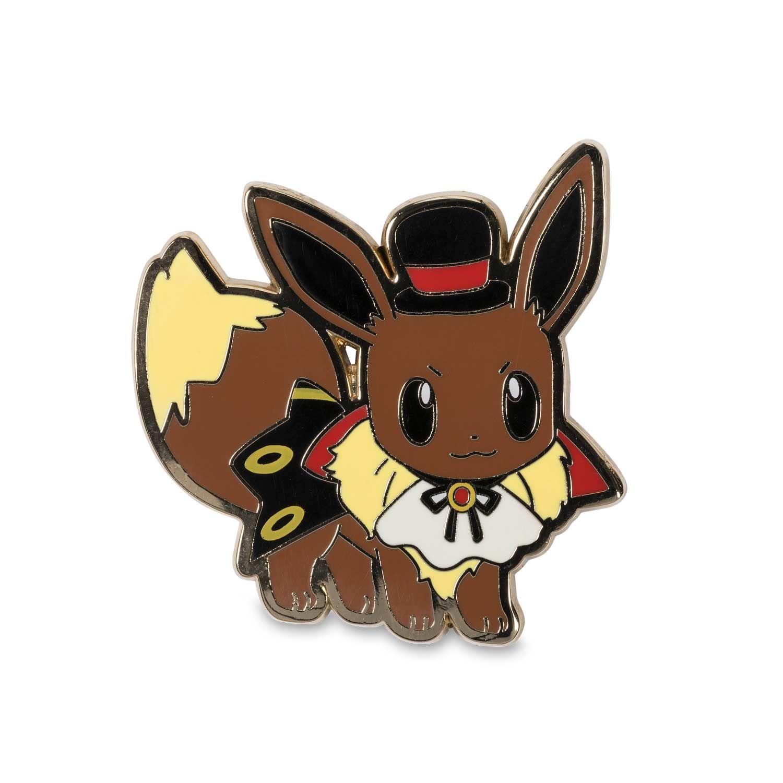 Official Halloween Pikachu, Eevee, and Mimikyu Pokémon Pins ...