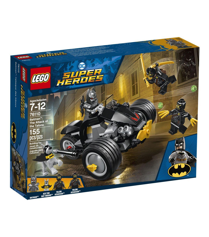 Lego 76111 Batman: Brother Eye Takedown Instruction Manual Batman