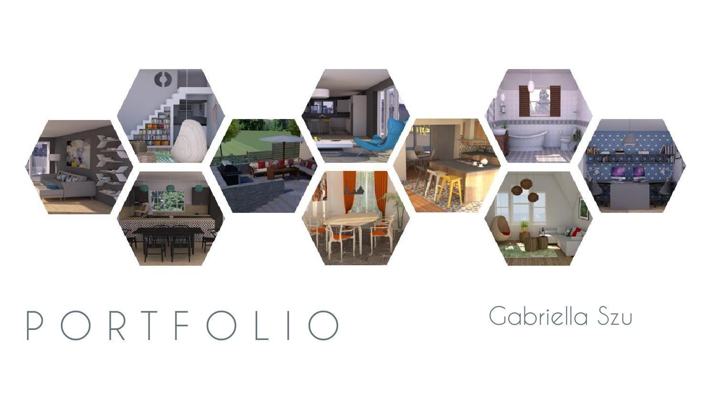 Interior Design Portfolio Interior Design Portfolio Layout