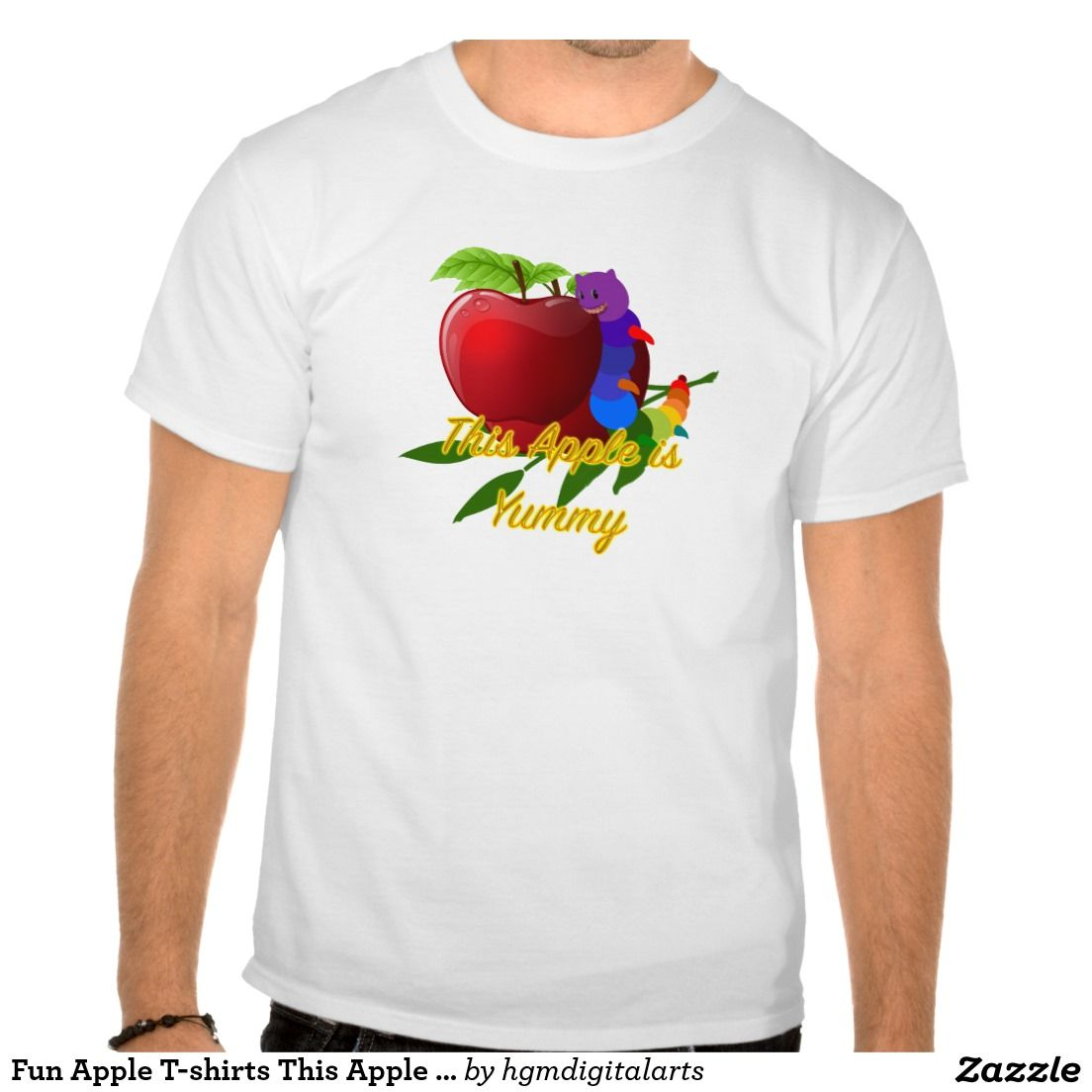 Fun Apple T-shirts This Apple is-Yummy