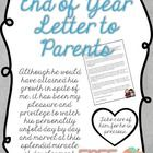 End of Year Letter to Parents, Sentimental