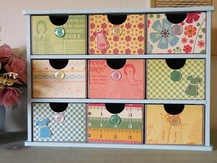 Paper Loves Glue Sew Cute Storage Box