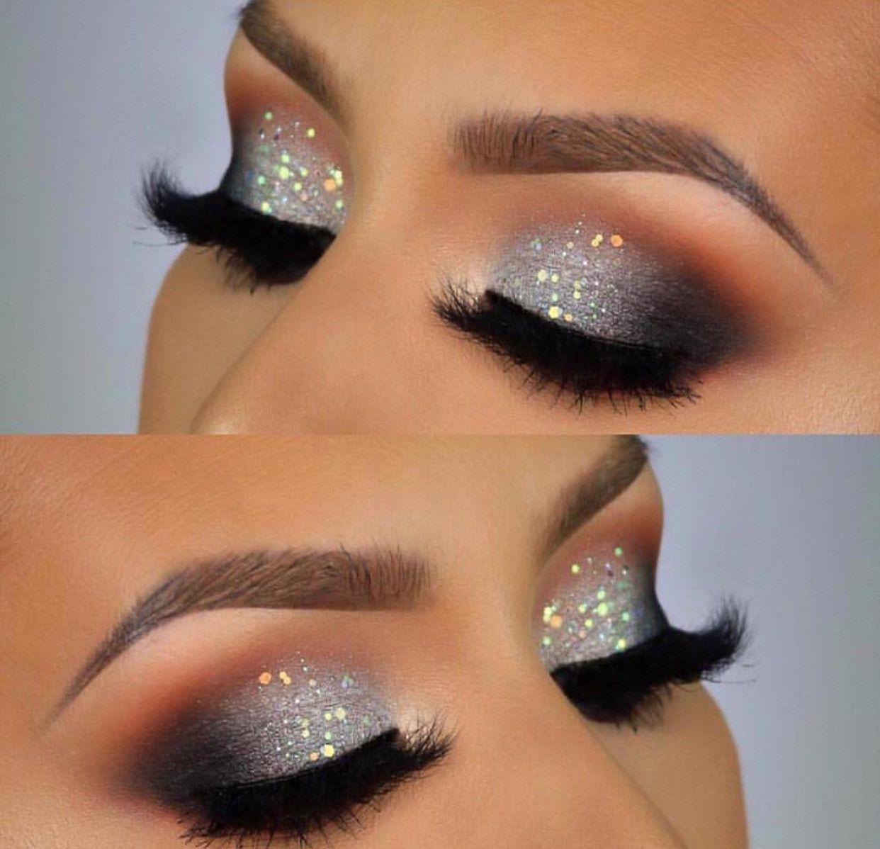 Charming Glitter Eye Makeup Sparkly Makeup Makeup For Hazel