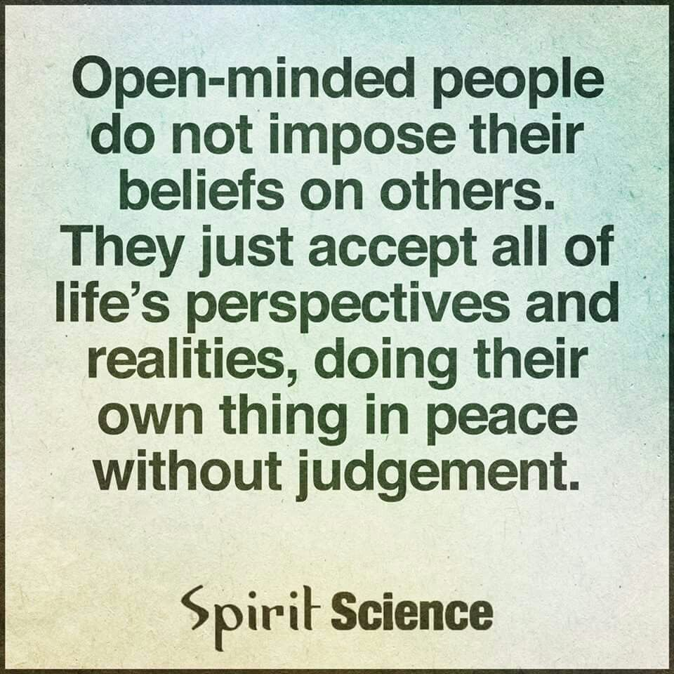 Image result for open mindedness is the same as empty headed ness quotes
