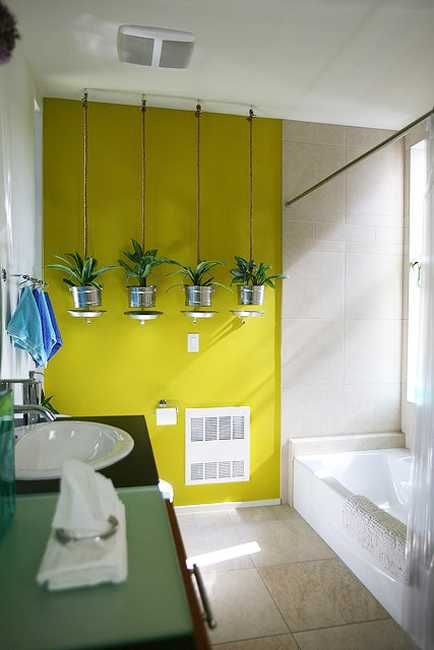 30 Green Ideas for Modern Bathroom Decorating with Plants. 30 Green Ideas for Modern Bathroom Decorating with Plants