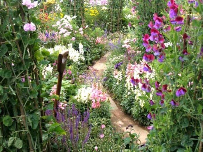 Ein Garten im Landhaus-Stil ist ein Stück heile Welt Man kann darin