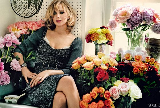 Jennifer Lawrence: Vogue photoshoot