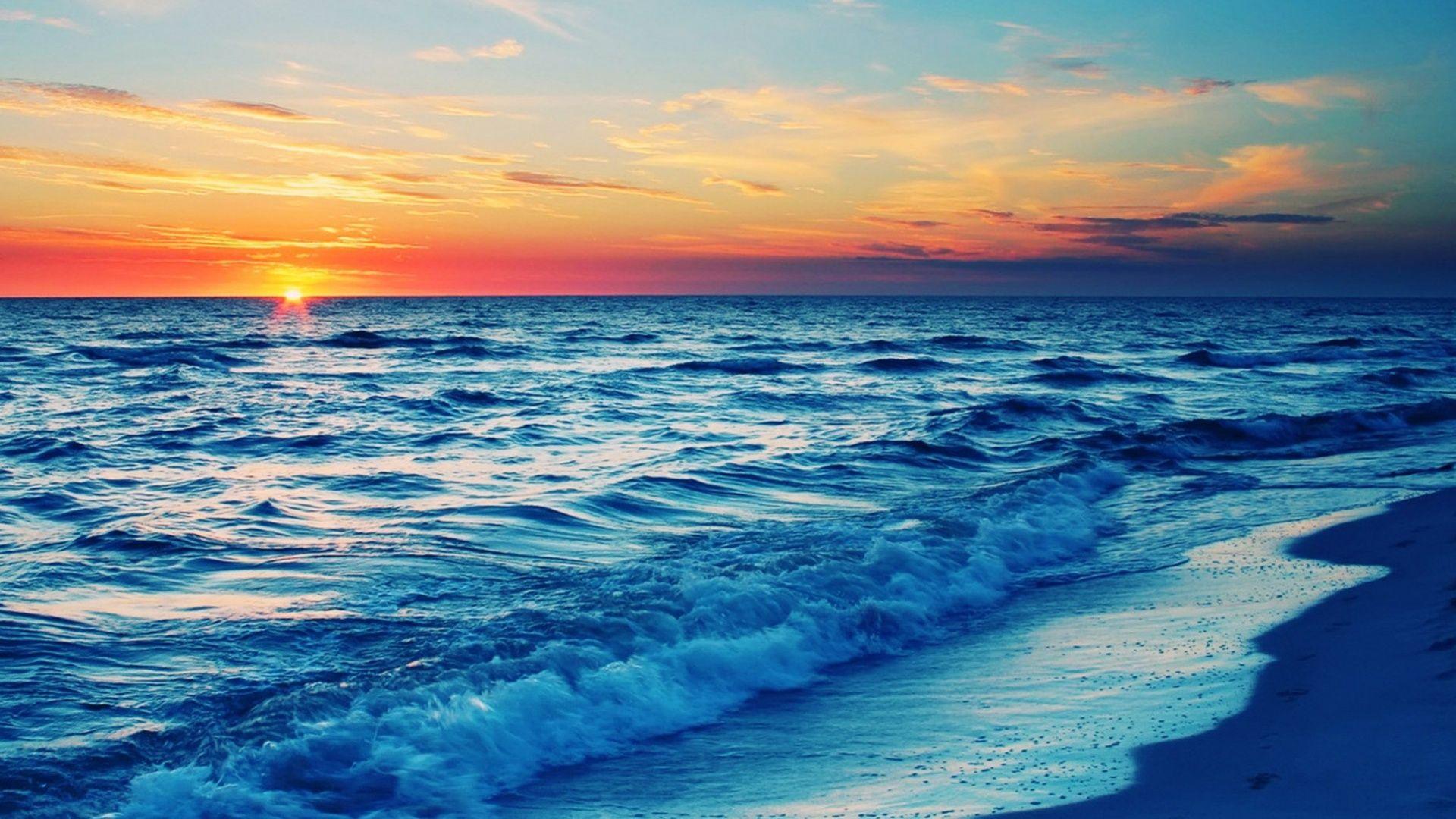 Sunset Beach Wallpaper 1080p 17040 Wallpaper Beach Sunset Wallpaper Beach Wallpaper Beautiful Ocean Pictures