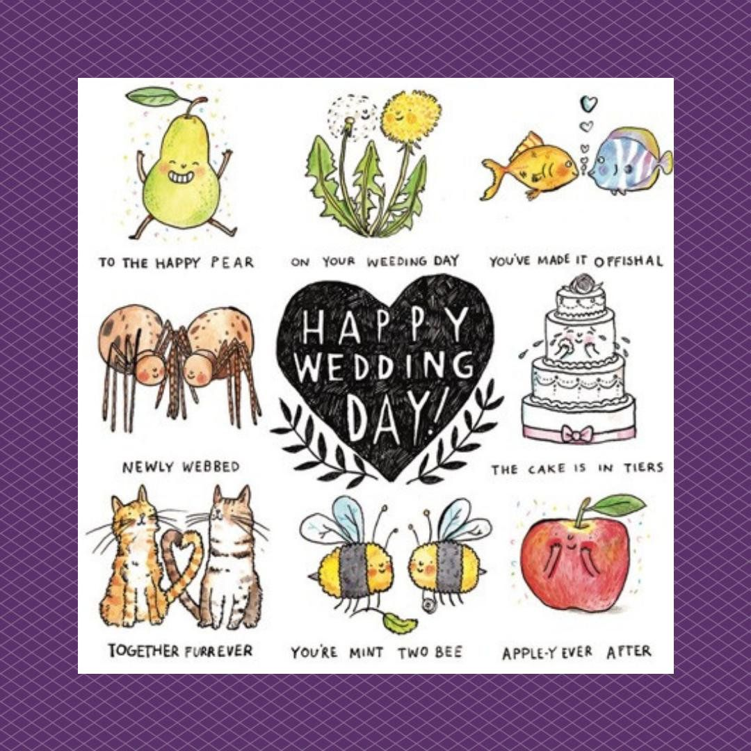 Explore And Download Photo Of Tweet Added By Creasedcards Jelly Arm Chair Always Provide The Very Best Puns Funny Wedding Cards Wedding Puns Happy Wedding Day