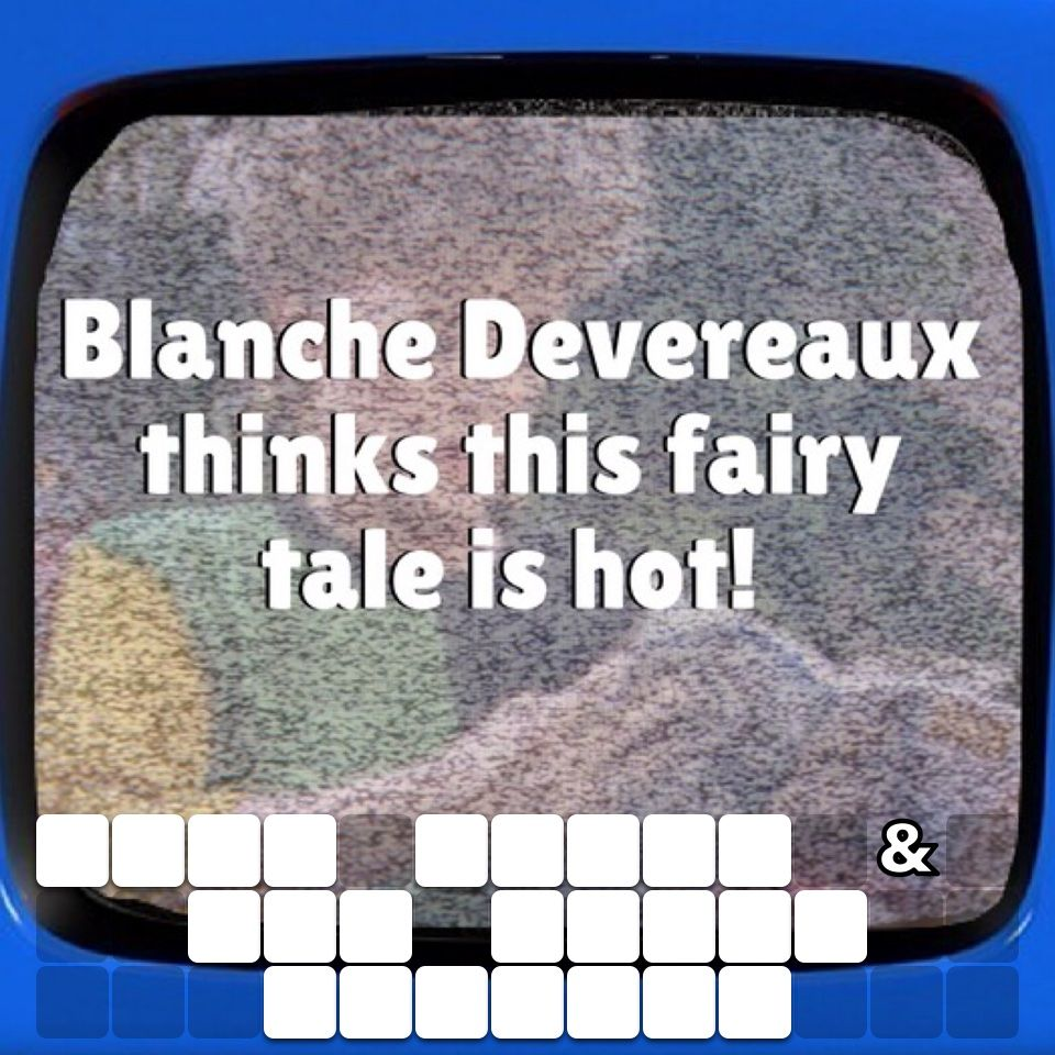 Can You Solve This Caption? Tv trivia, Words with