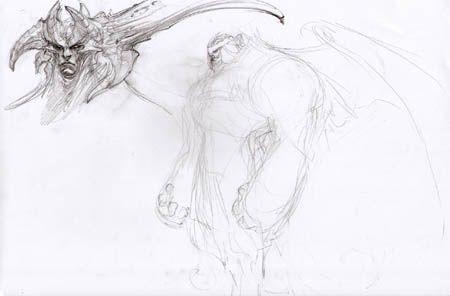 Darksiders-horny-guy-face-and-shape-concept-art-madureira-sketch-s.jpg (450×296)