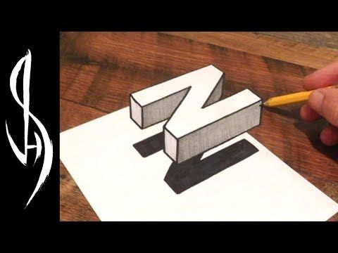 How To Draw A 3d Ladder Trick Art For Kids Youtube 3d Drawings Easy Drawings Realistic Drawings