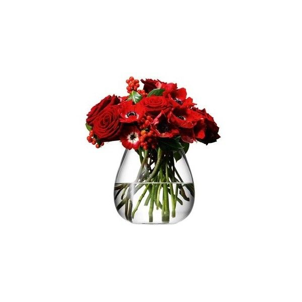 Lsa International Flower Table Bouquet Vase 17cm 32 Liked On
