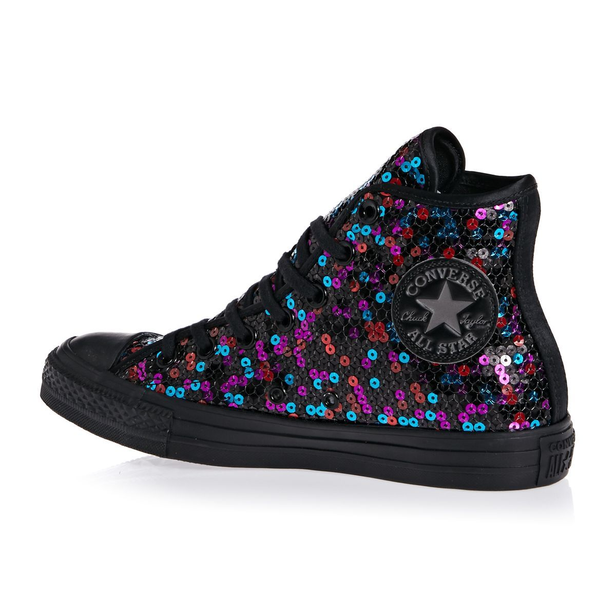 3daa7dc9b Zapatos Converse - Zapatos Converse Chuck Taylor All Star Hi -  Black Blue Cherry
