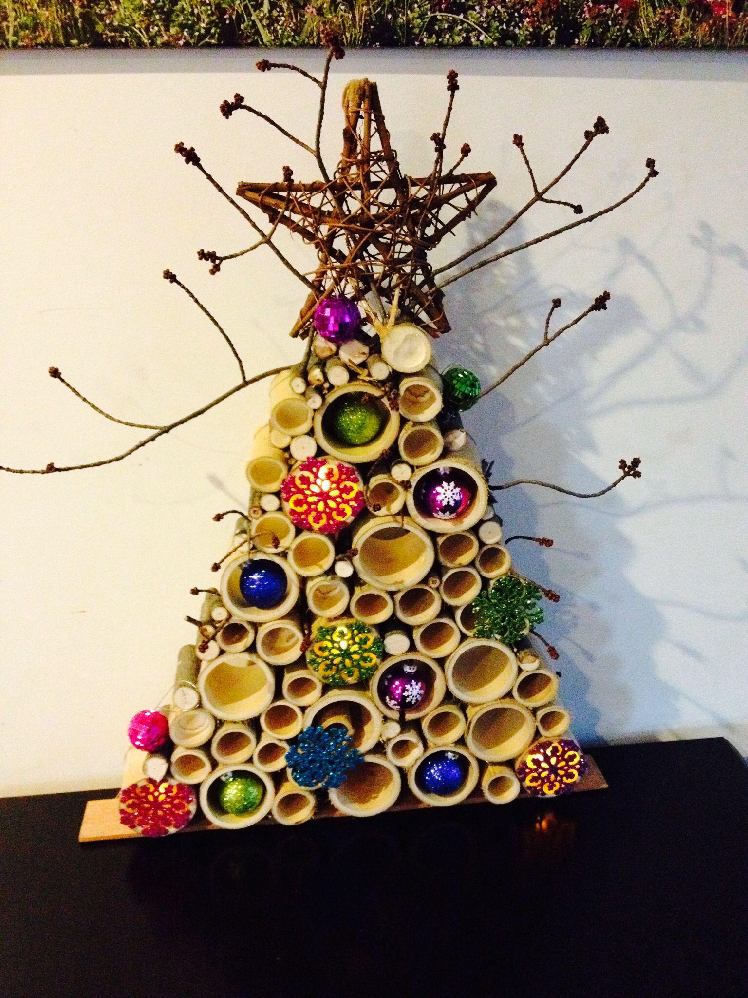 Bamboo Christmas Tree