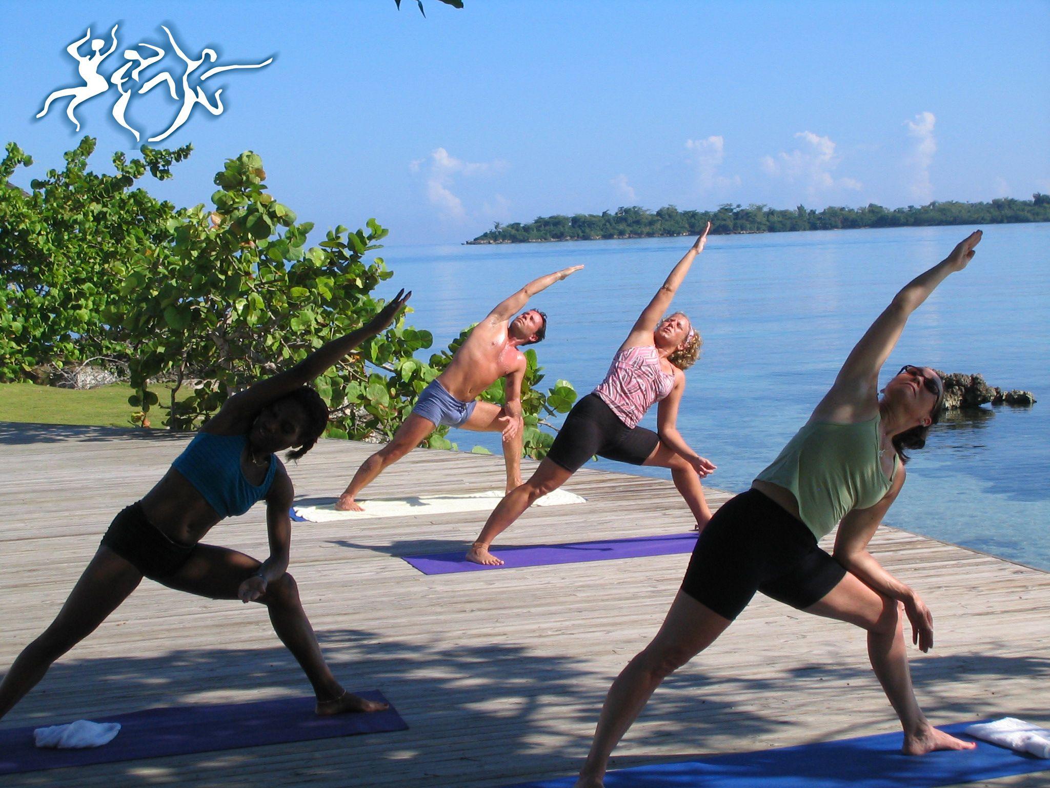 Oceanside yoga = pure,sweet bliss. #yoga #yogi #namaste # ...