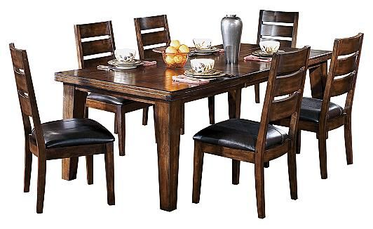 Larchmont Dining Room Extension Table Bench Available From Ashley Furniture