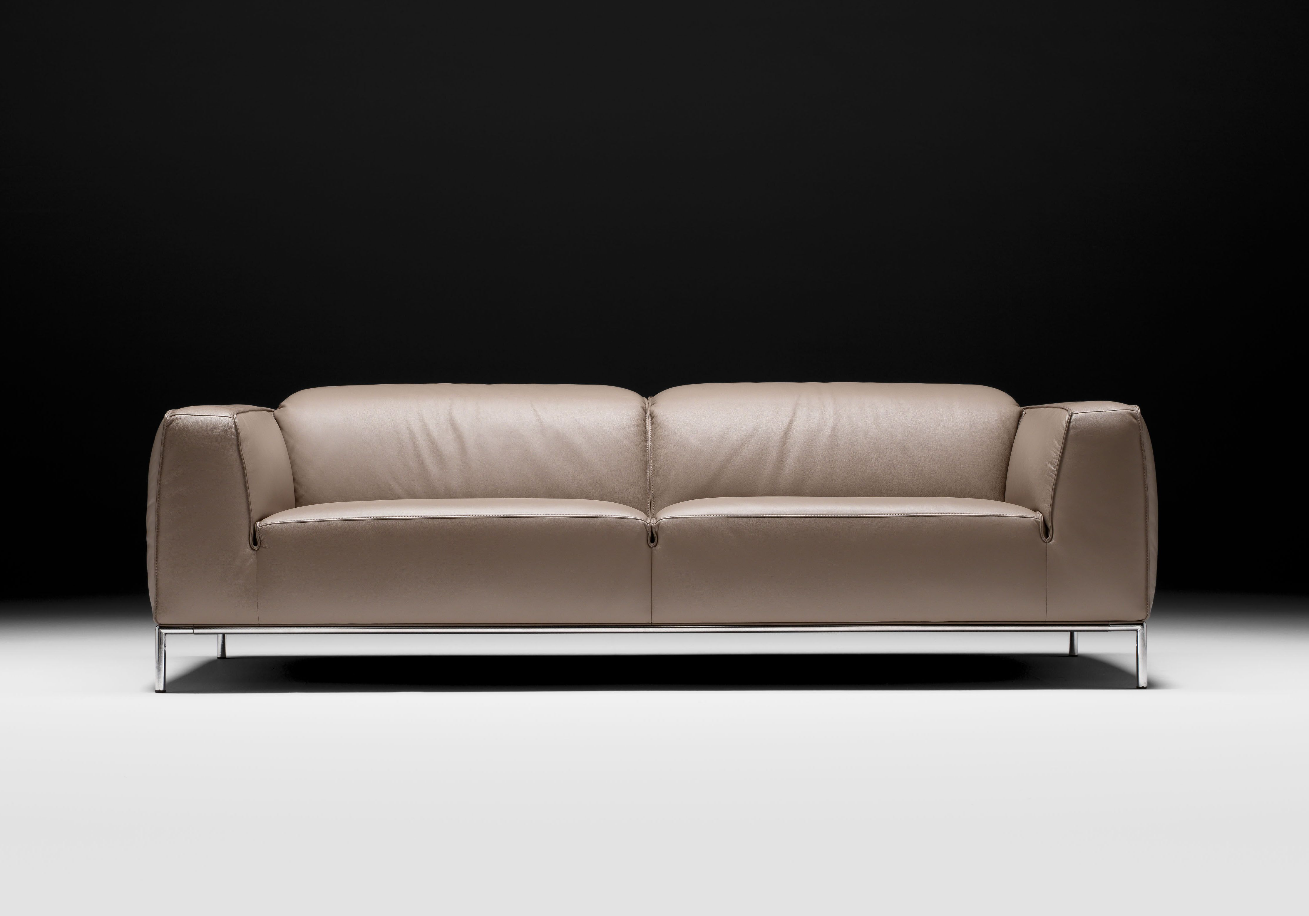Exclusive Esszimmermöbel Bardolino 100 Italian Leather Sofas