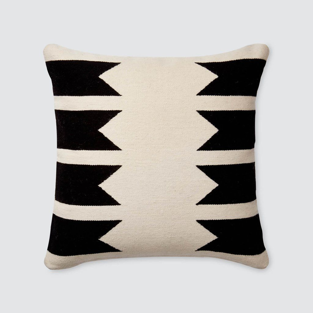 Modern Throw Pillows Black White Handmade In Peru The Citizenry Modern Throw Pillows Throw Pillows Pillows