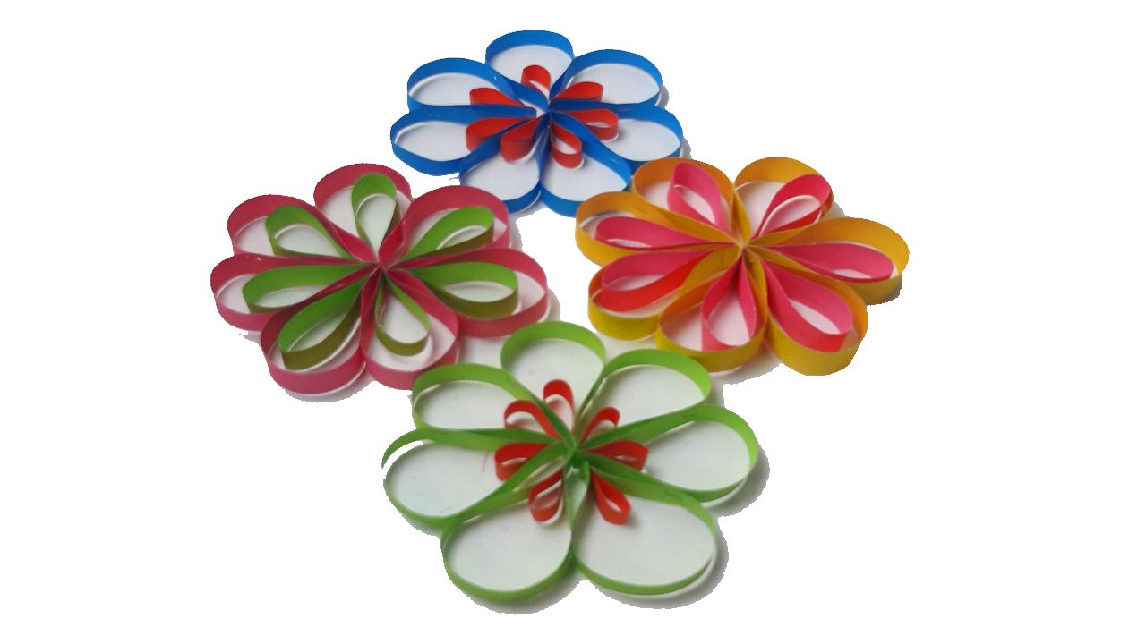 How To Make A Paper Flowers Wall Hanging Ideas To Decorate At Your