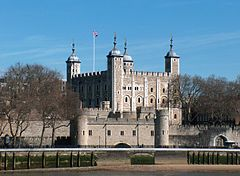 Castles in Great Britain and Ireland - The Tower of London, England