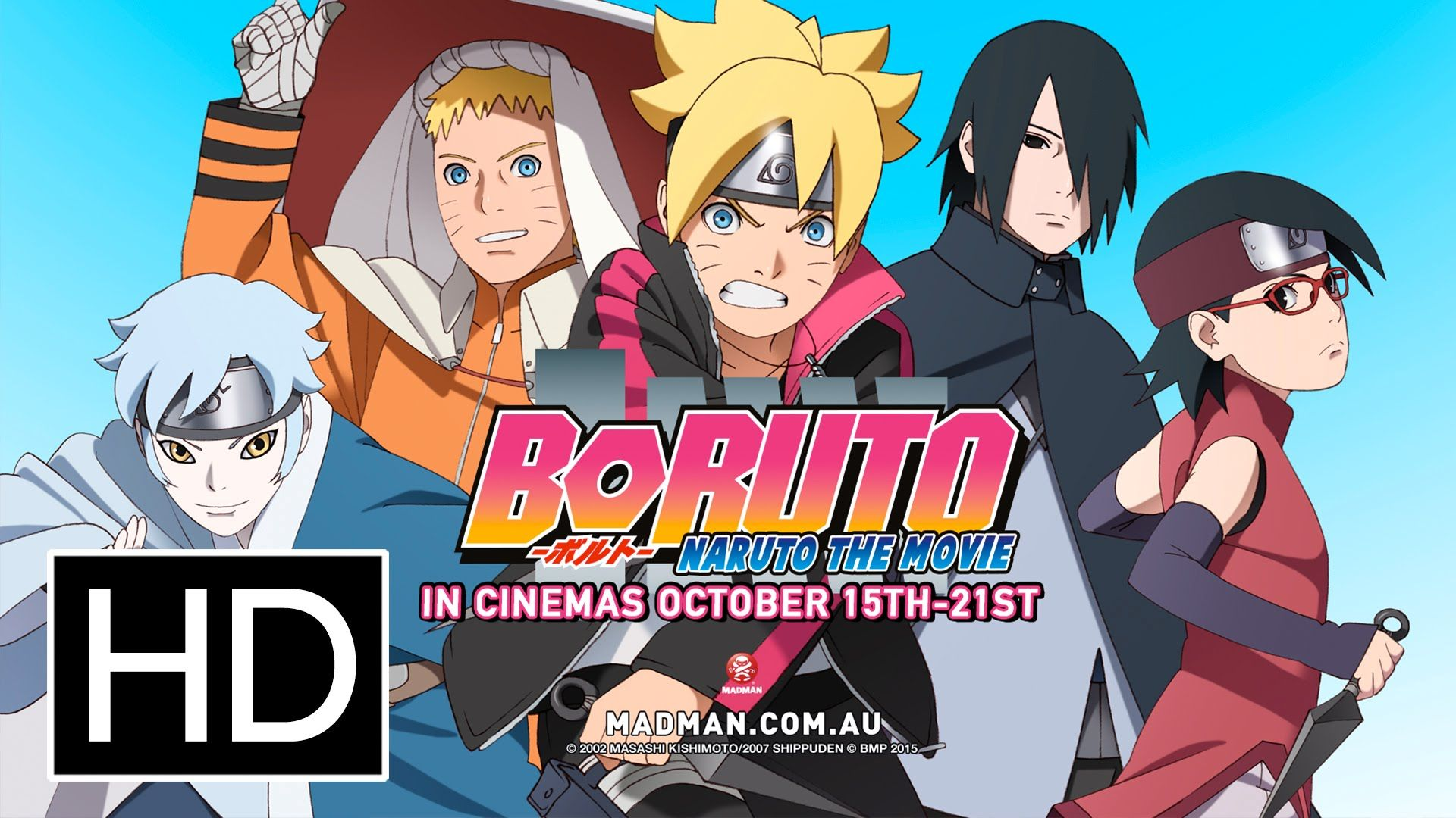 Boruto Naruto The Movie Official Full Trailer Naruto The Movie Boruto Naruto