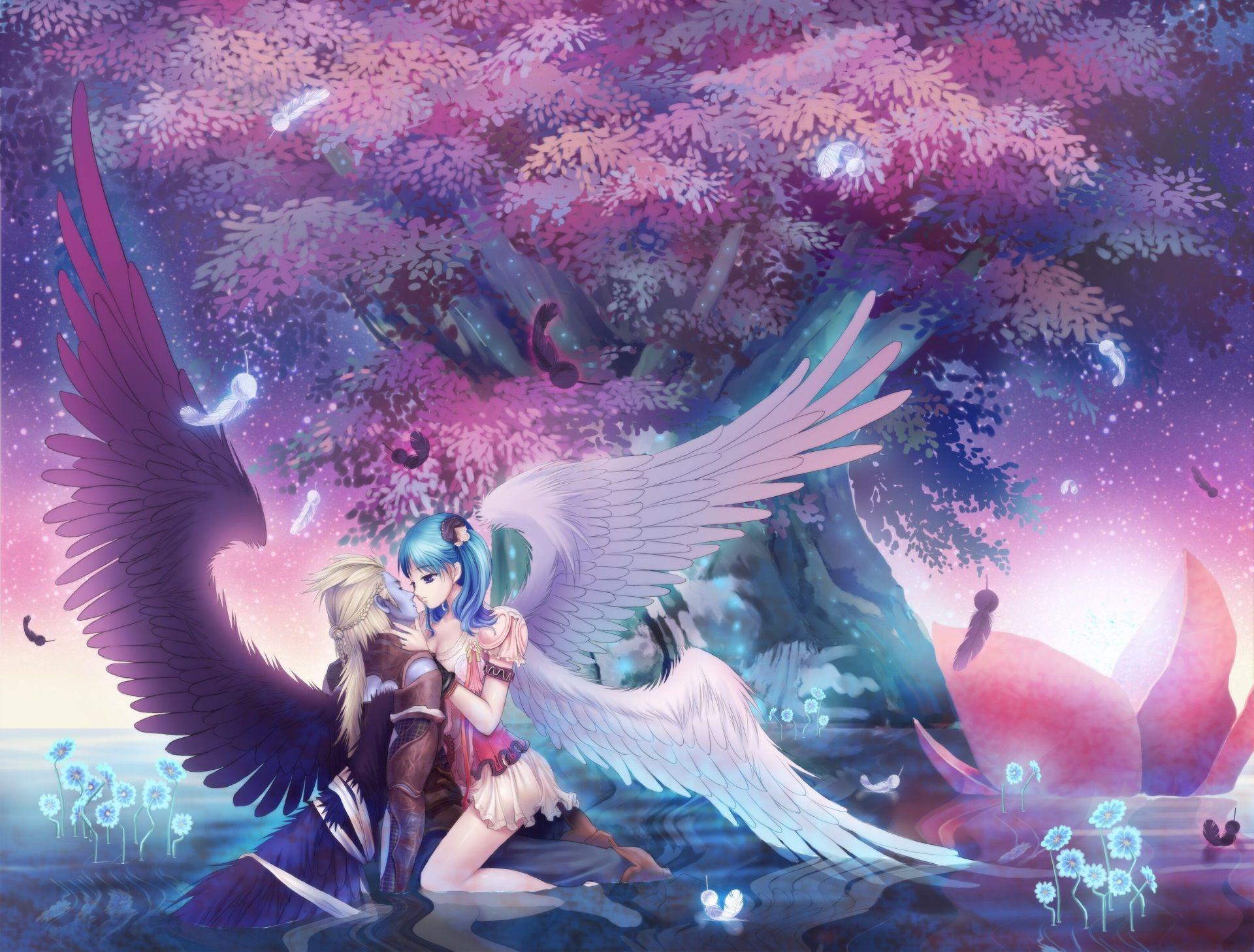 Couple Anime Wallpaper Hd