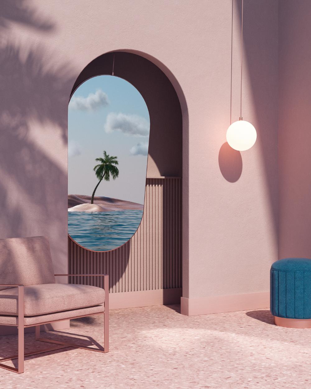 Isolation Reflections on Behance | Interior design art ...