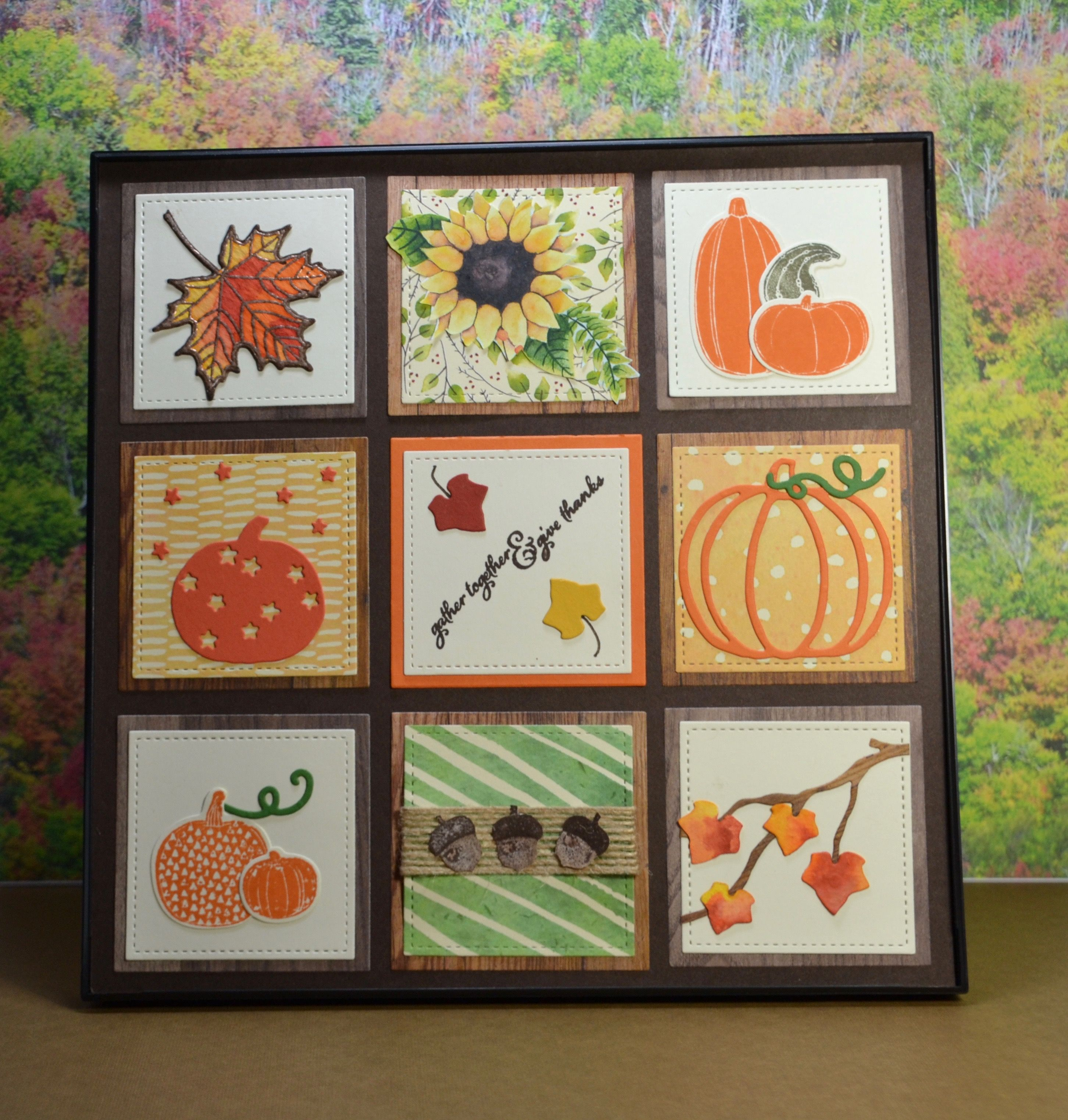 Stampin Up Painted Harvest Sampler | Samplers | Pinterest