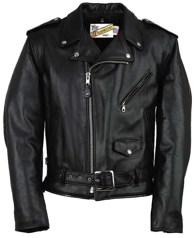 schott INVENTED the motorcycle jacket .. that then became the punk ...