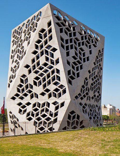 Contemporary Concrete Buildings Around The World Concrete Building Building Beautiful Buildings