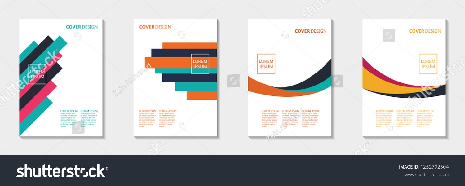 Cover Design Template Abstract Book Cover Design Book Cover Design Design Template Cover Design