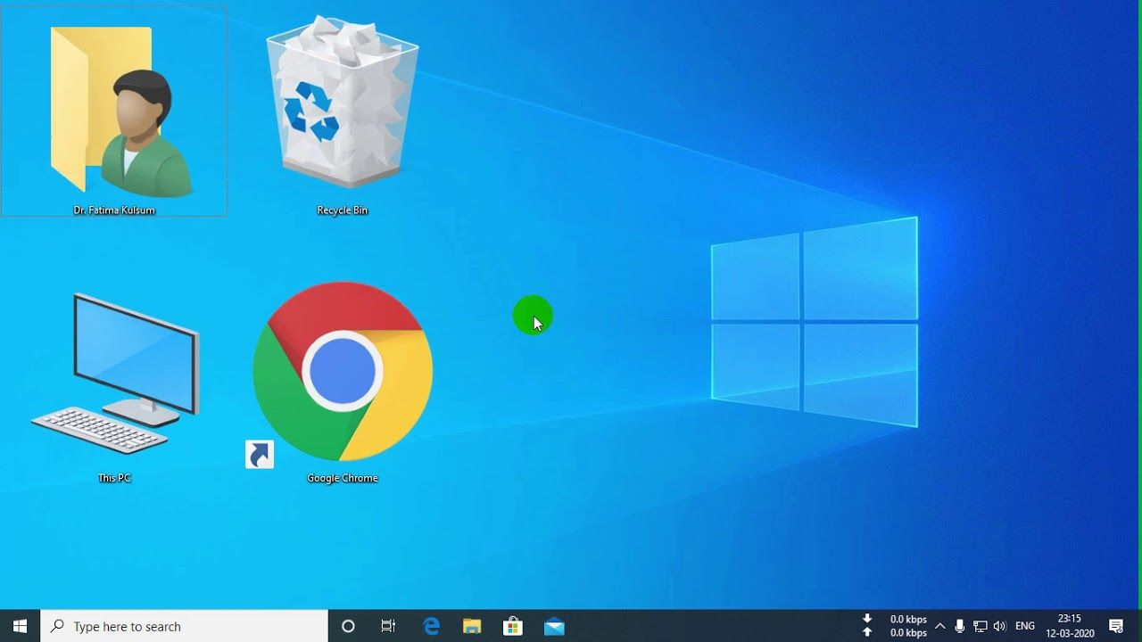How To Change Windows Desktop Icon Size In 2020 Desktop Icons Icon Windows