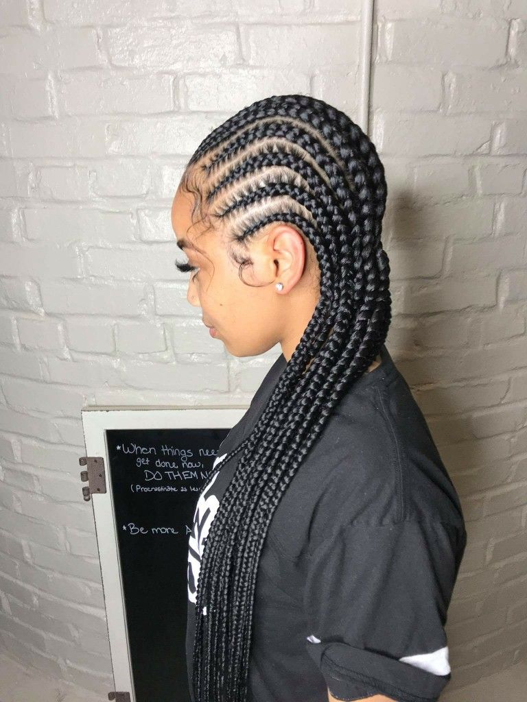 Pin By 314babe On Hairstyles Braided Hairstyles Hair Styles Straight Back Hairstyles