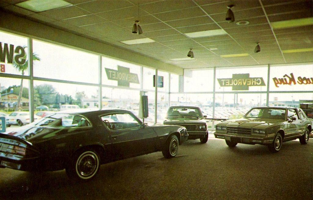 Bruce King Chevrolet, Lake Park, Florida, FL, 1981