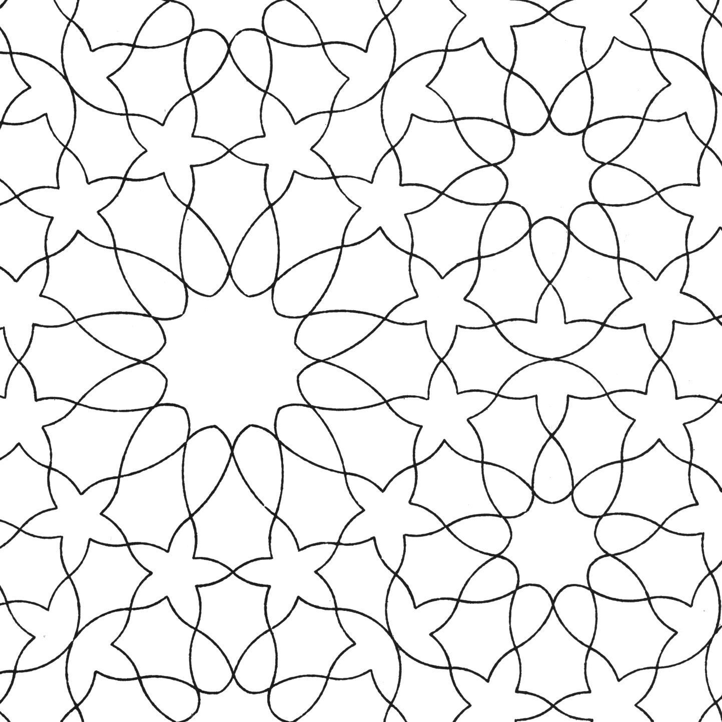 Pattern 07 | arabesque | Pinterest | Islamic patterns ...