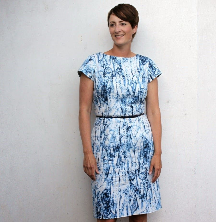 Groovybabyd mama a plain and simple semi fitted dress in a not