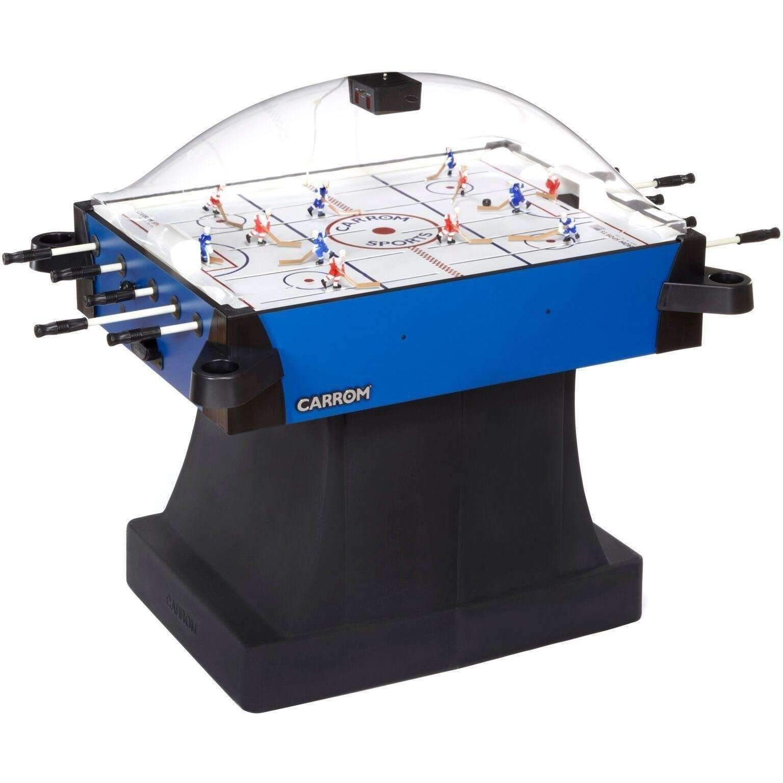 Carrom Signature Stick Hockey Table With A Pedestal In