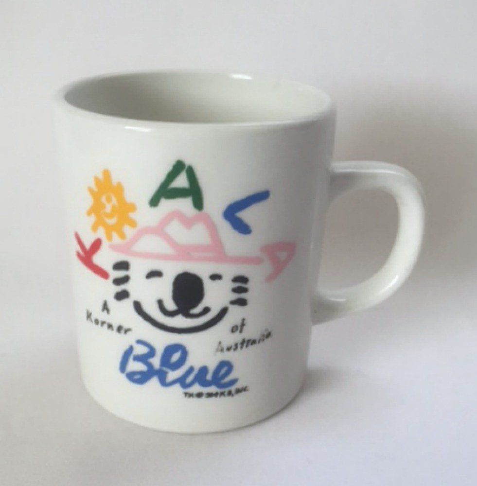 Koala Blue Mug Korner of Australia Coffee Cup Mugs