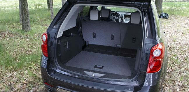 63 7 Cubic Feet Of Maximum Cargo Space Fuel Efficient Suv