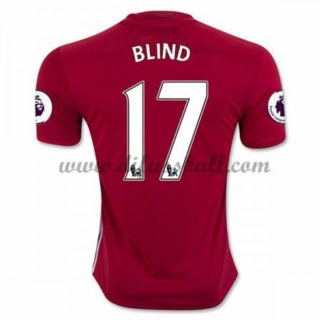 timeless design a3fca 04c6d Neues Manchester United 2016-17 Fussball Trikot Blind 17 ...