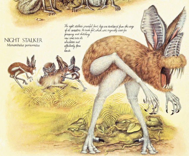 The horrors of evolution: the 10 freakiest animals of speculative biology