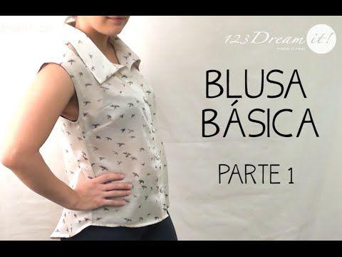 Tutorial Blusa Básica - Parte 1 - YouTube