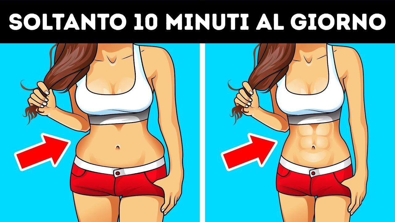 perdere grasso della pancia e maniglie dell dellamore