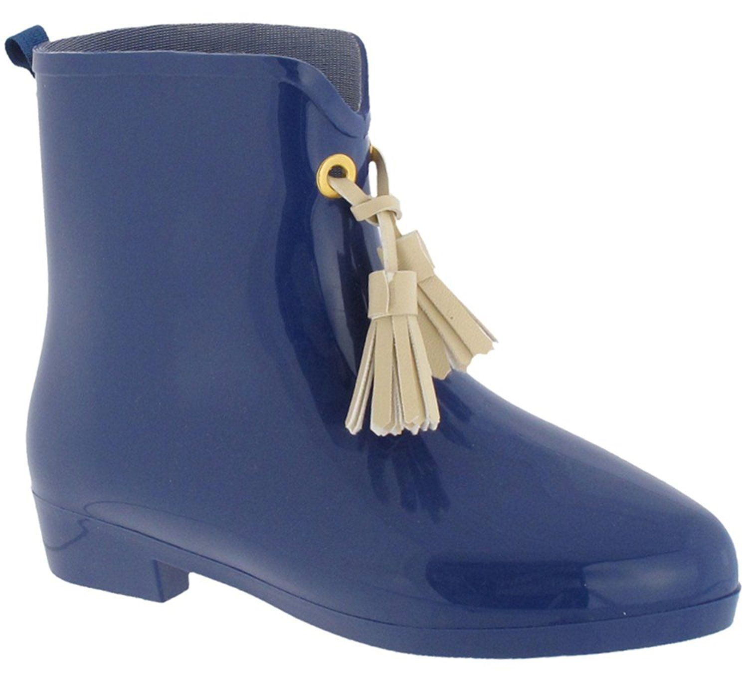 Capelli New York Girls Shiny Solid Opaque Casual Rainboot
